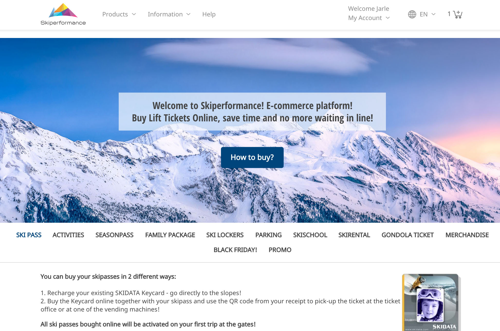 skiperformance website
