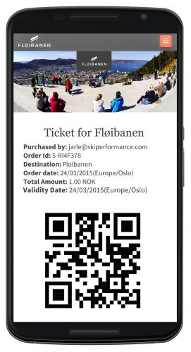 kiperformance Standard Ticket Sales & QR code Module
